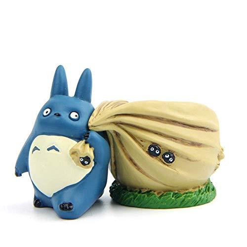 CNCYHP Kat Bonen Draak Kleine Mini Bloem Pot Blauw Draak Kat Rugzak Bloem Pot Hars DIY Pop Decoratie Duurzaam en mooi