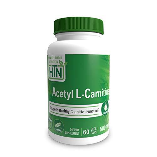 Acetyl L-Carnitin 500mg 60 Kapseln Nicht-GVO (60)