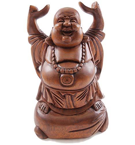 Artisanal Statue Bouddha Chinois Rieur 30cm. Happy Buddha en