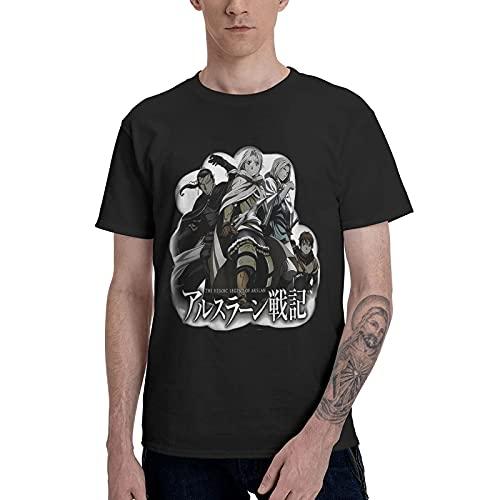 Camisetas Hombre Casual Estampado Creativo Cuello Redondo Cómodo Manga Corta Arslan Senki The Heroic Legend of Arslan