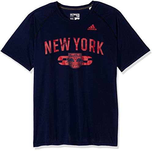 adidas Sprint Ultimate S/S Camiseta para Hombre, Azul Marino Universitario, XL