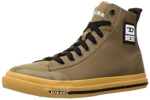 Diesel Zapatillas de deporte para hombre S-Astico Mid Cut, color Marrón, talla 41 EU