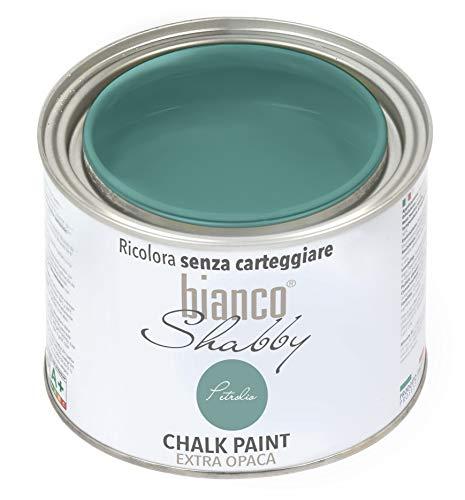 CHALK PAINT Petrolio Pittura Shabby Chic Vintage per Mobili e Pareti EXTRA OPACO (500 ml)