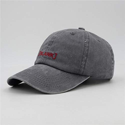 MGUOH Baseball Caps Hoeden Voor Mannen Vrouwen Caps Gewassen Katoen Mannen Hoed Letter Zwarte Cap