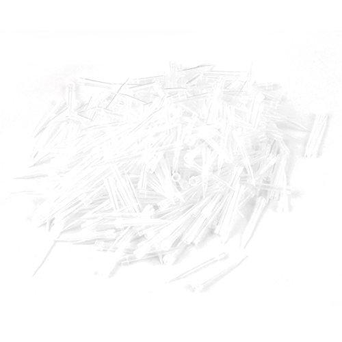 1000 Stück Kunststoff Universell Pipette Pipettor Mikro pipetten spitzen 300UL de