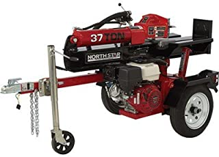 NorthStar Deluxe Horizontal/Vertical Log Splitter - 37-Ton Ram Force, 389cc Honda GX390 Engine