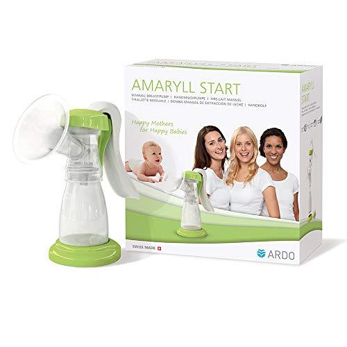 Ardo Amaryll Start Handmilchpumpe – Hochwertige, manuelle Milchpumpe für sanftes, gelegentliches Abpumpen von Muttermilch – BPA-frei