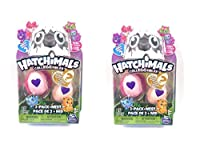 2 packs Hatchimals season 2 Hold the egg in your hands, rub the heart and when it changes from purple to pink, you know it's ready to hatch! Gently press to crack the egg and discover the Hatchimal Colleggtible inside. Keep the base of the egg to use...