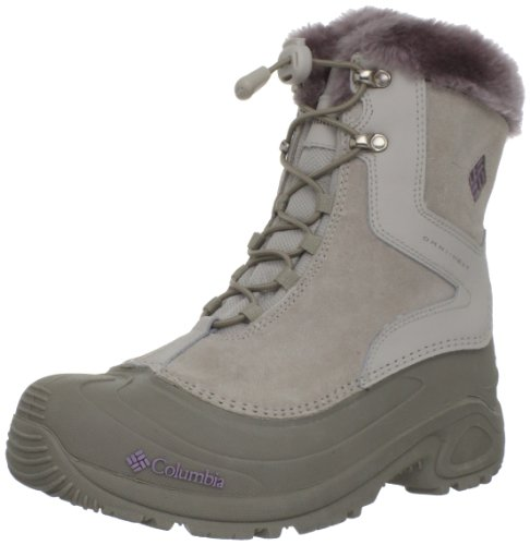 Columbia Youth Bugaboot Plus - (girls) BY1291, Mädchen Stiefel, Beige (Fawn, Daybreak 920), EU 36 (UK 3.5) (US 4)