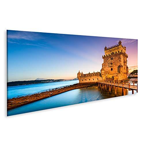 Cuadro en lienzo Torre de Belem Portugal Lisboa Río Tajo cuadros decoracion Impresión salon