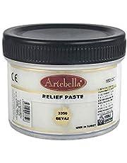 Artebella 3350 Rölyef Pasta Klasik Seri Beyaz