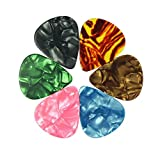 90Pack Guitar Picks, Assorted Thickness for Acoustic Electric Guitars Bass or Ukulele, 0.46mm, 0.71mm and 0.96mm