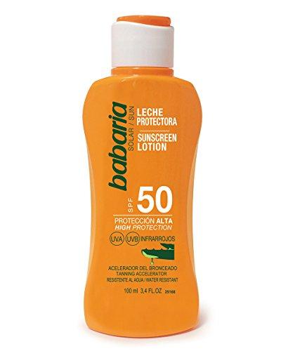 Babaria Leche Protector Solar Aloe SPF50-100 ml