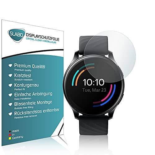 Slabo 4 x Bildschirmschutzfolie für OnePlus Watch Bildschirmschutz Schutzfolie Folie Crystal Clear KLAR