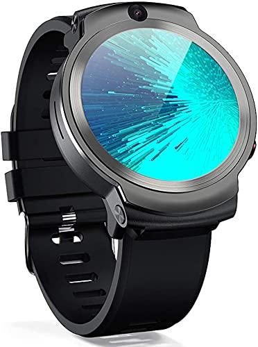 X&Z-XAOY Reloj Inteligente Reloj De Pulsera con Cámara MTK6739 De Cuatro Núcleos Rastreador De Ejercicios Pulsera 4G Android 7.1 8.0MP Reloj del Perseguidor De La Aptitud De WiFi GPS 3 GB 32 GB