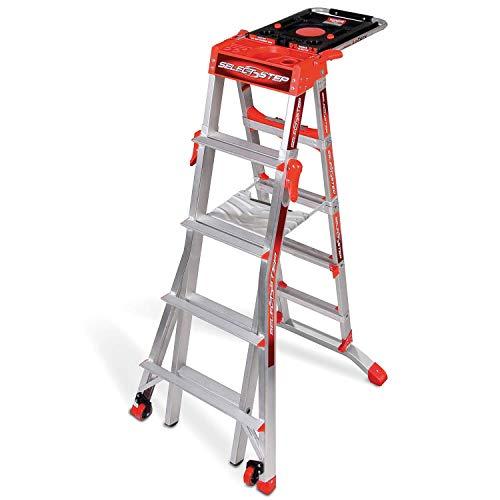Little Giant 5 Tread SelectStep | Multi-height Step Ladder |...