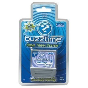 Buzztime History Trivia Cartridge by Buzztime