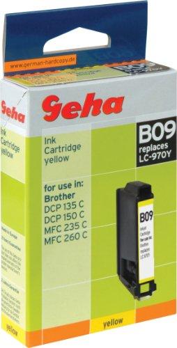 Geha Tintenpatrone für Brother ersetzt Nr. LC 970Y yellow