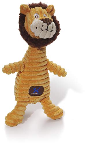 Charming Pet Squeakin' Squiggles Lion Plush Dog Toy