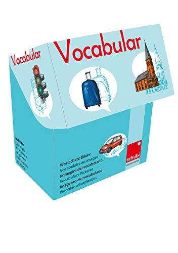 Vocabular: Wortschatzbilder Fahrzeuge, Verkehr, Gebäude