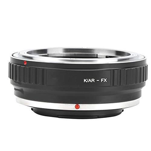 Adaptador de Montaje de Lente K/Ar-Fx Aleación de Aluminio Operación Totalmente Manual Anillo Adaptador de Montaje de Lente para Lente Konica para cámara de Montaje Fujifilm Fx