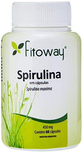 Spirulina 450Mg - 60 Cápsulas, Fitoway