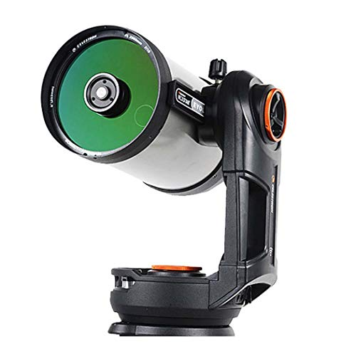 GGPUS - Telescopio automático de Estrellas, telescopio de Viaje, telescopio de refracción astronómica con trípode y Alcance del buscador, telescopio portátil, Longitud Focal 2032 mm, máx. 480 Veces