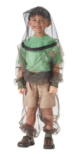 Bug Baffler Toddler's Insect Protective Mesh Shirt, Olive, Child 4-6