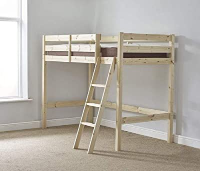 Strictly Beds and Bunk - High Sleeper Loft Bunk Bed, 3ft Single