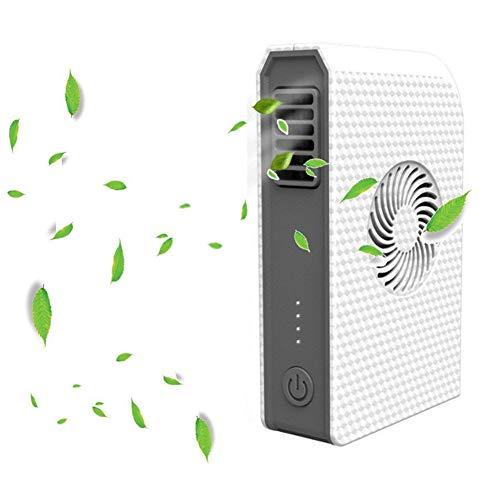 FSCZHLK ventilator nieuw kleine persoonlijke ventilator met 6000 mAh powerbank mini-handheld USB-tafelventilator met draagbare lader Beste gebruik op kantoor van de reisschool