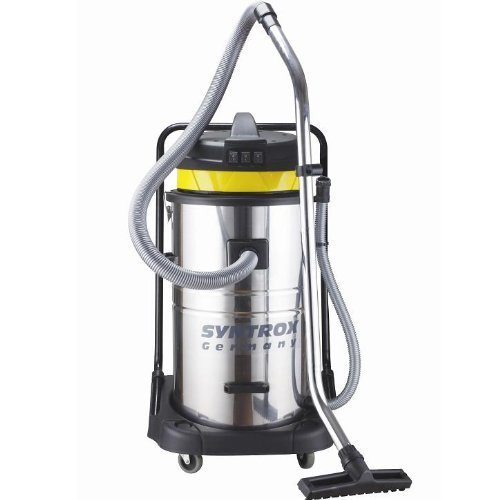 Syntrox Germany 3900 watts 80 liter stainless steel vacuum cleaner industrial vacuum cleaner wet and dry vacuum cleaner