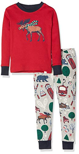 Hatley Organic Cotton Long Sleeve Printed Pyjama Sets Pigiama Bambino