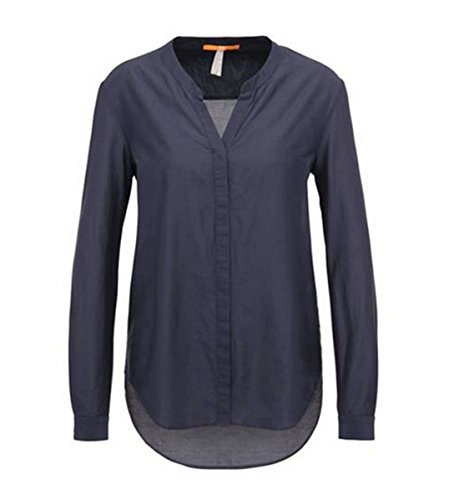 BOSS Damen Efelize_10 Bluse, Blau (Dark Blue 405), 38
