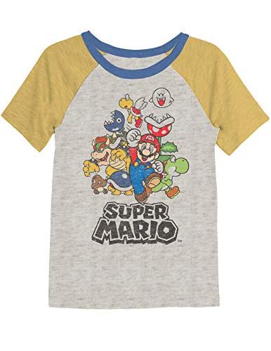 Jumping Beans Boys 4-8 Mario Retro Super Rad Graphic Tee 6