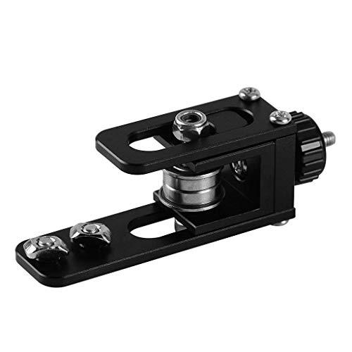 ZGQA-GQA Belt Stretch Straighten Tensioner Belt Adjustment Device Aluminum Profile X-Axis Synchronous for 3D Printer