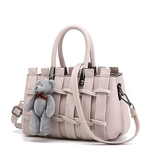 MMKONG Frau Louis Bags Handtasche 2018 Kanal Frauen Kupplungen Tasche Pu Leder Handtasche Mode Handtaschen Vintage Bär-1
