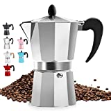 Classic Stovetop Espresso Maker for Great Flavored...