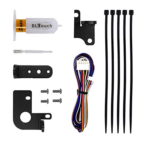 Creality 3D Printer V3.1 BL Touch Kit, Automatic Hotbed Leveling Kit for Creality 3D Printers with 32Bit Mainboard(V4.2.2/V4.2.7) Ender 3 V2 / Ender 3/3Pro/5//5 Pro/3S/3 MAX)