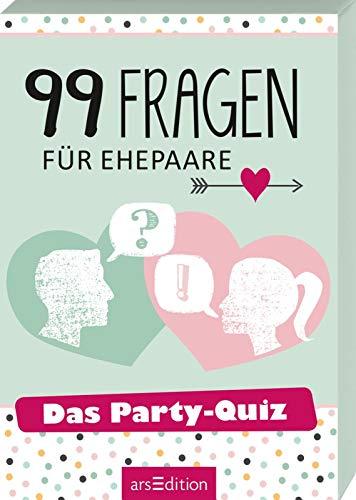 99 Fragen für Ehepaare: Das Party-Quiz