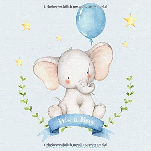 Babyparty Gästebuch: Babyshower Erinnerungsbuch für Jungen