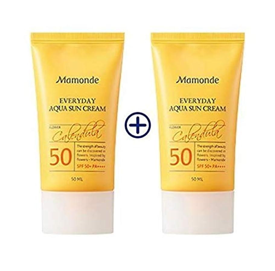 社員差造船[1+1] MAMONDE Everyday Aqua Sun Cream (50ml),SPF50+PA++++ 韓国日焼け止め