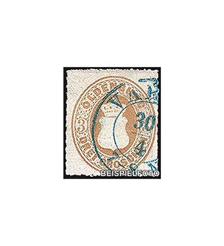 Goldhahn Oldenburg Nr. 19 gestempelt Briefmarken für Sammler