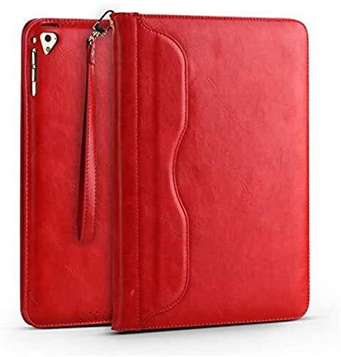 YNLRY Tab Accessories - Funda para iPad Mini 1 2 3 4 (piel), color rojo