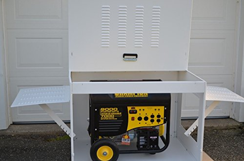 Portable Generator Enclosure (43' W x 33' D x 30' H)