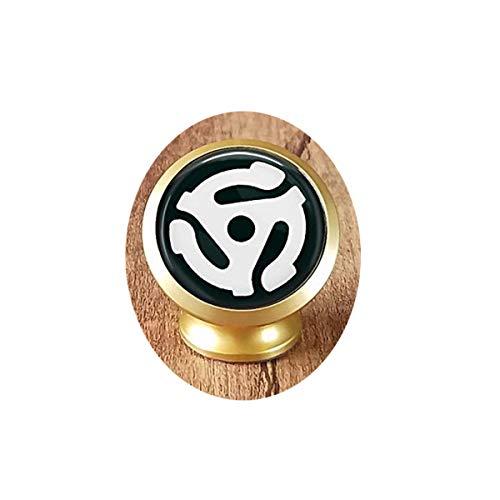 Gancio adattatore per disco – regalo per gli amanti della musica – gioielli per la musica vecchia scuola – Supporto magnetico per auto