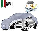Copertura auto Premium WALSER Tutte le previsioni del tempo, garage auto resistente alle intemperie, garage completo impermeabile, protezione solare auto, telone di protezione UV auto, copertura auto