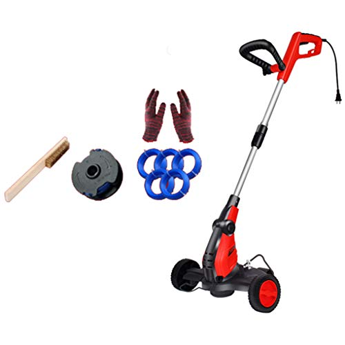 Buy Discount SWTY Portable Grass Trimmer, 650W Copper Motor/Anti-Collision Wire Mesh / 120° Handle ...