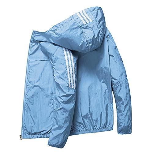 Chaqueta de secado rápido para mujer impermeable protección solar abrigos al aire libre