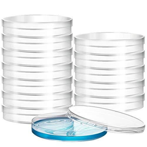 Placas de plástico para cultivo celular, 70 mm, para medicina experimental, 10 unidades