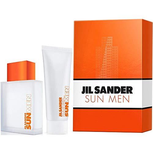 Jil Sander Sun Men Duftset (Eau de Toilette,75ml+Duschgel,75ml), 200 g